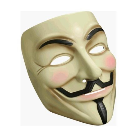 Guy Fawkes mask: a new political icon?